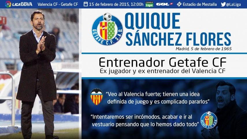 Quique Sánchez Flores:
