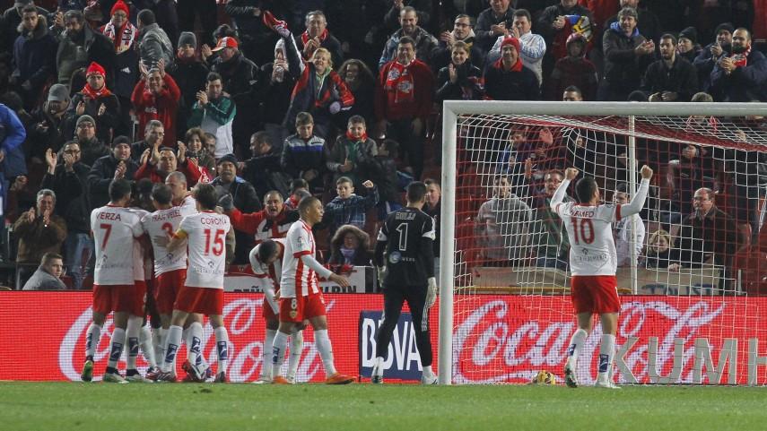 La igualdad reina entre el Almería y la Real Sociedad