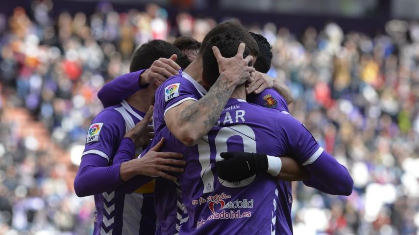 El Valladolid aprieta la zona alta de la Liga Adelante