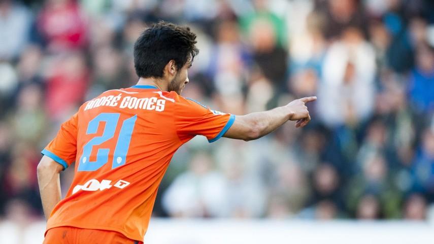 André Gomes, tres meses de baja