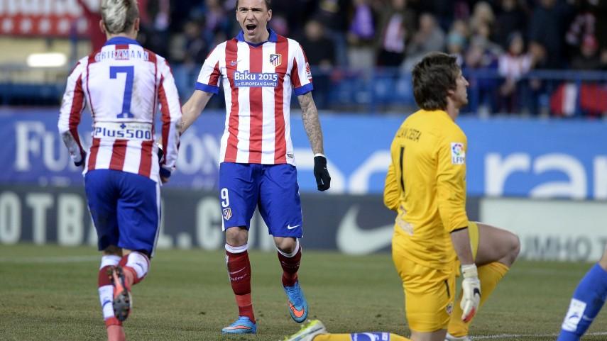 Mandžukić y Griezmann guían al Atlético