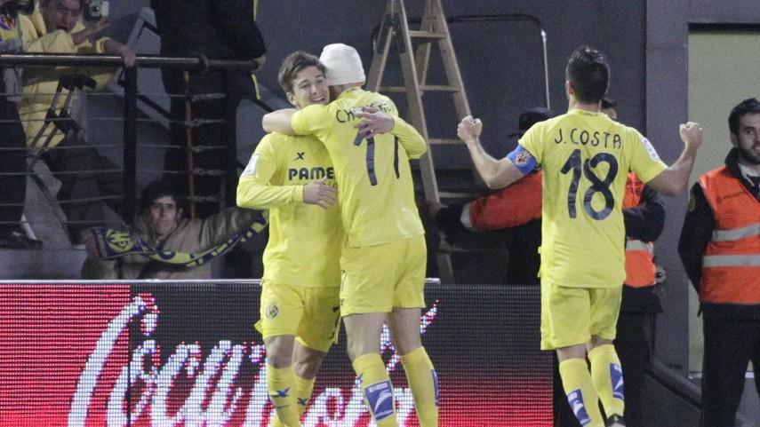 Vietto aparece a tiempo para el Villarreal
