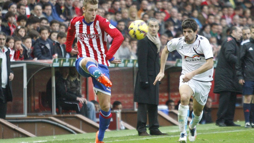 El Sporting pierde a Álex Barrera