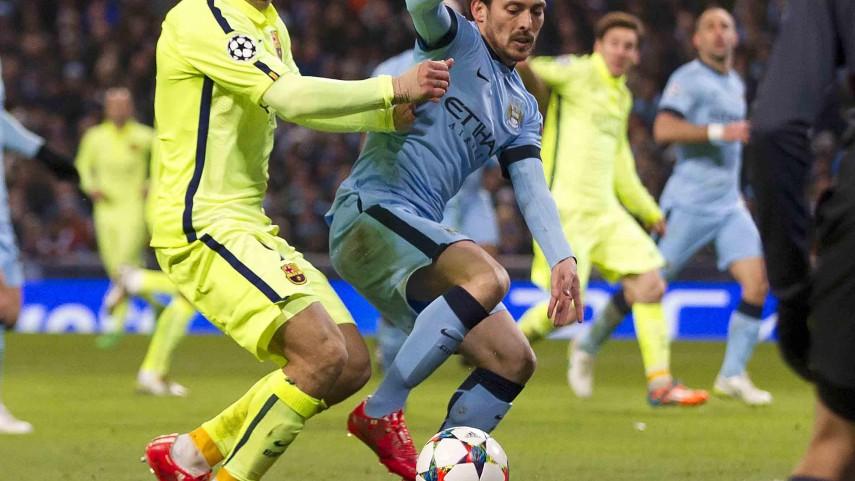 Luis Suárez guía al FC Barcelona en la Champions League