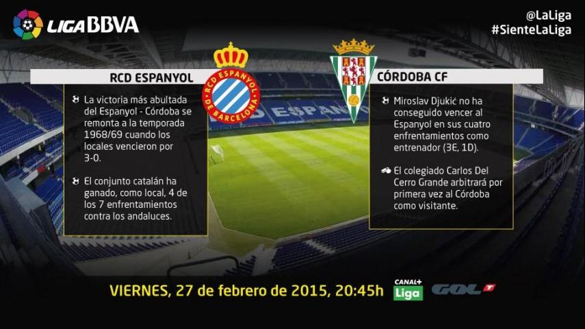 El Córdoba, a por todas en el feudo 'perico'