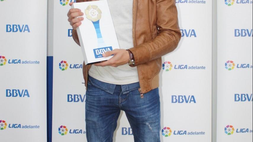 Premio BBVA: Chuli, mejor jugador de la Liga Adelante en febrero