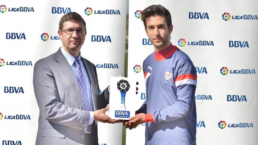 Premios BBVA: Alberto Bueno, mejor jugador de la Liga BBVA en febrero