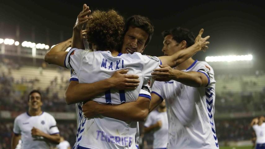 Maxi vuelve a ser decisivo para el Tenerife