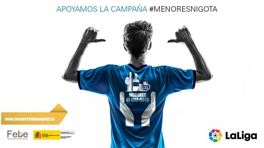 La LFP apoya la campaña