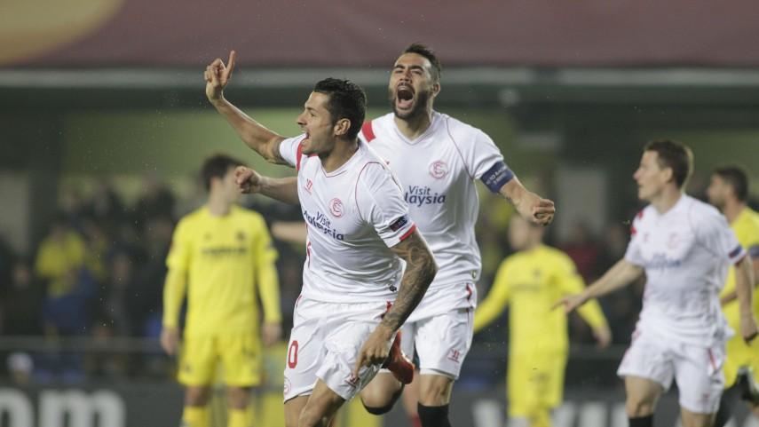 El Sevilla se lleva el primer asalto contra el Villarreal