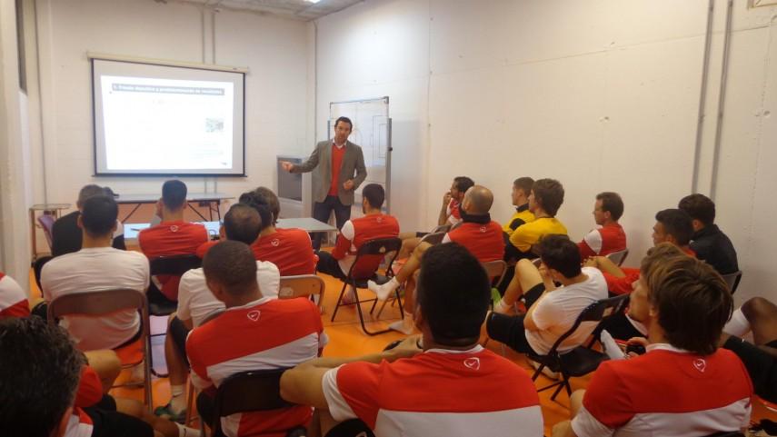 El Almería también recibió el Curso de Integridad de la LFP