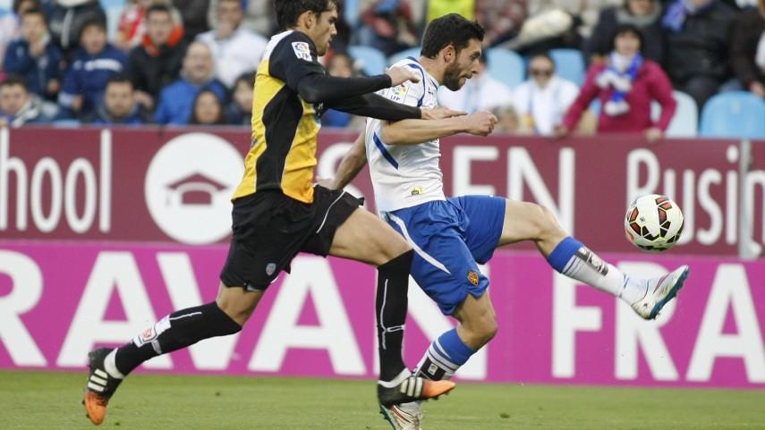 Faltó el gol en La Romareda