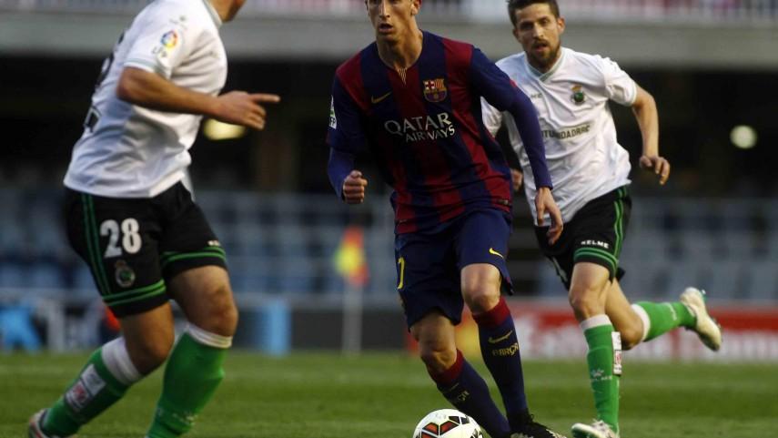 El Racing empata 'in extremis' ante un buen Barcelona B