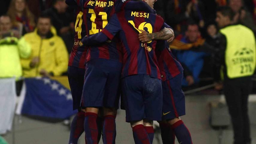 El Barcelona logra el pleno de equipos españoles para cuartos de final