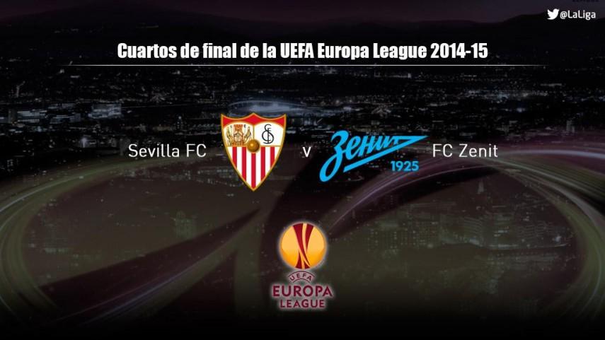 El Sevilla, ante el Zenit