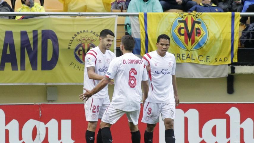 El Sevilla prolonga su racha ante el Villarreal