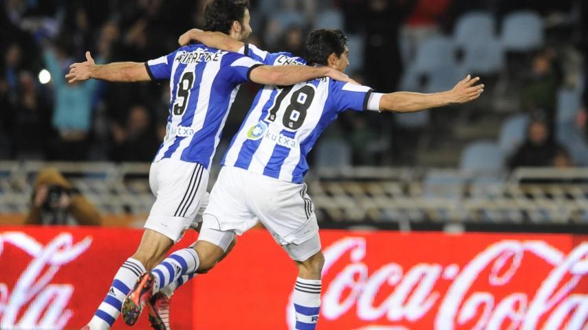 La Real Sociedad no falla ante el Córdoba