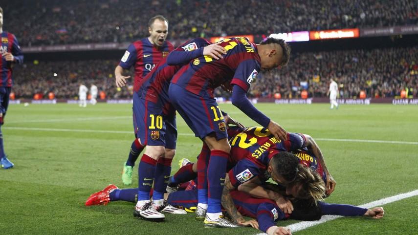 El FC Barcelona se lleva el clásico