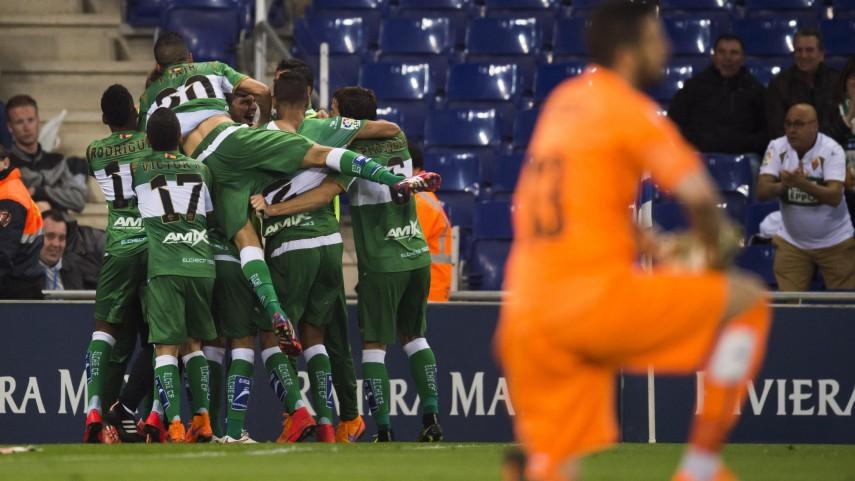 Cristian Herrera salva un punto frente al Espanyol