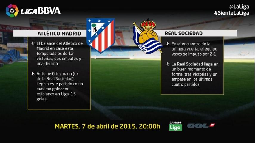 La Real Sociedad visita el Calderón en un buen momento