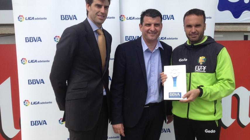 BBVA Prizes: Lluís Carrillo, best coach in the Liga Adelante in March