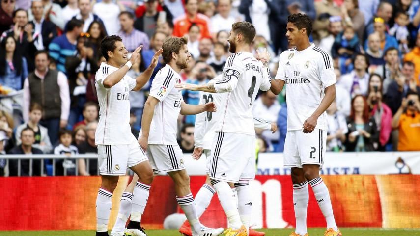 El Real Madrid supera otra prueba ante el Eibar