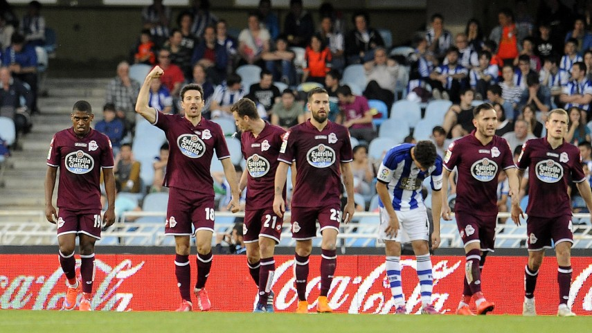 Deportivo pick up a vital point