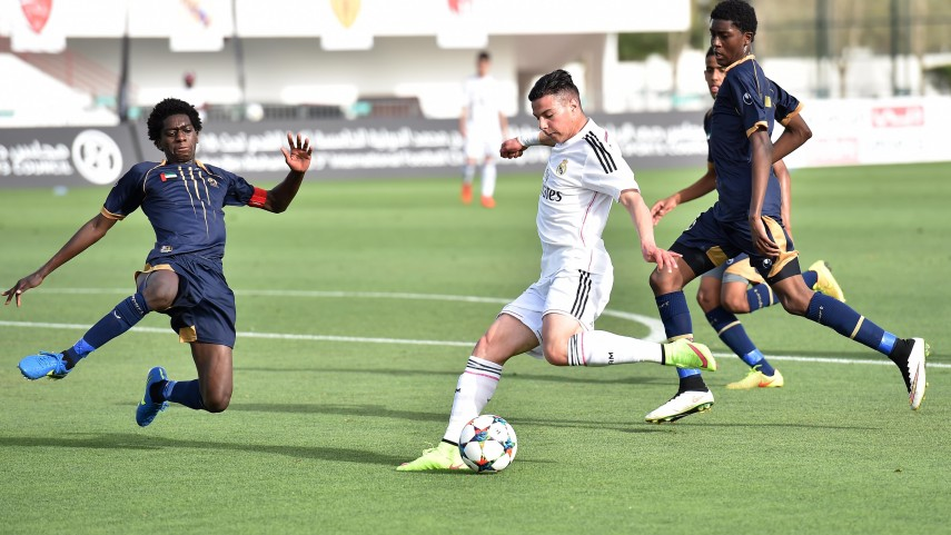 El Real Madrid, finalista del Hamdan 5th International Football Championship U18