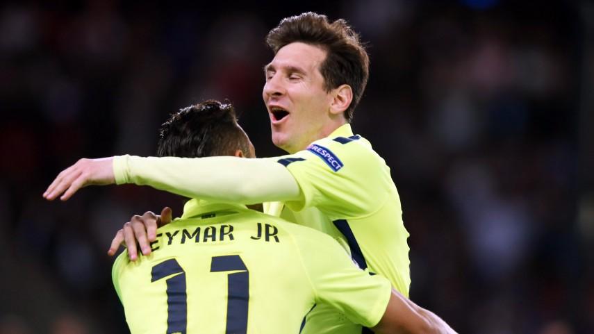 El FC Barcelona se acerca a las semifinales de la Champions