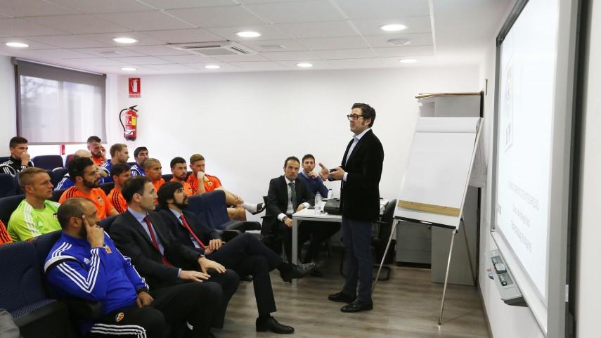 El Valencia recibe el Curso de Integridad de La Liga