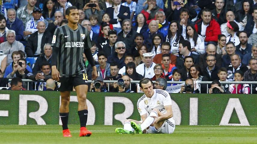 Gareth Bale también cae lesionado