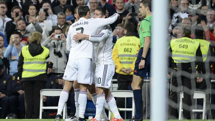 El Real Madrid sigue en la pelea por la Liga BBVA
