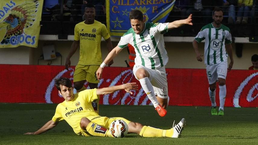 El Córdoba tira de orgullo y saca un empate ante el Villarreal
