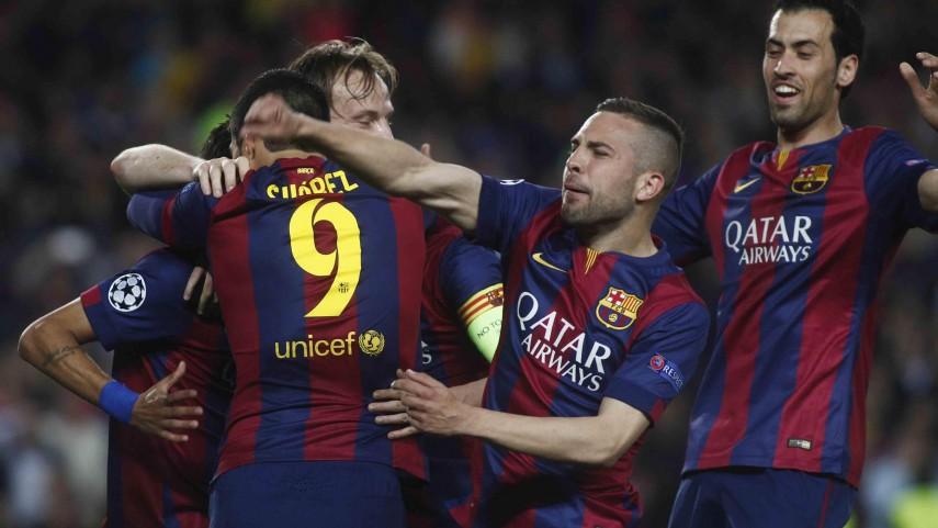 Neymar guía al Barcelona a las semifinales