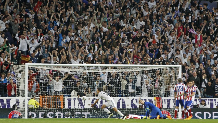 Chicharito firmó la quinta semifinal consecutiva del Real Madrid