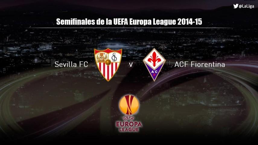 El Sevilla se medirá a la Fiorentina en semifinales de la Europa League