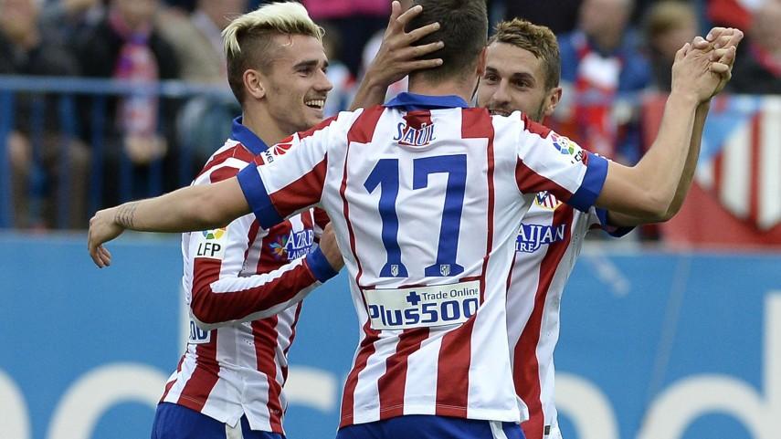 El Atlético no da opción al Elche