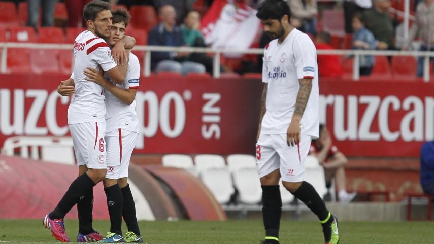 El Sevilla sigue sin ceder en casa