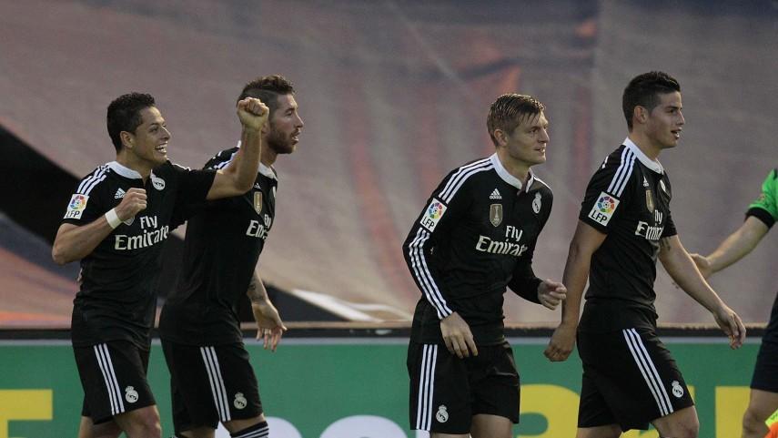 El Real Madrid logra el triunfo y sigue en la lucha por el título