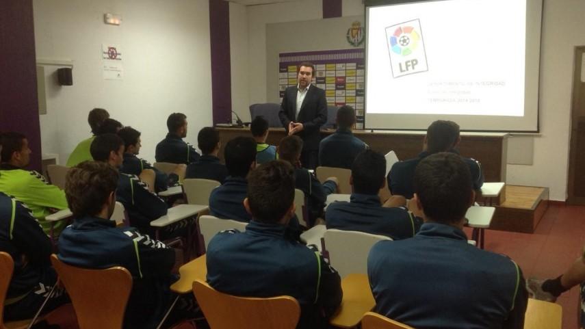 El Curso de Integridad de La Liga visita al Valladolid