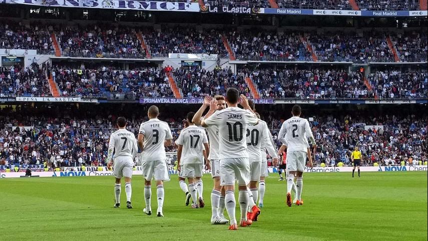El Real Madrid no cede ante el Almería