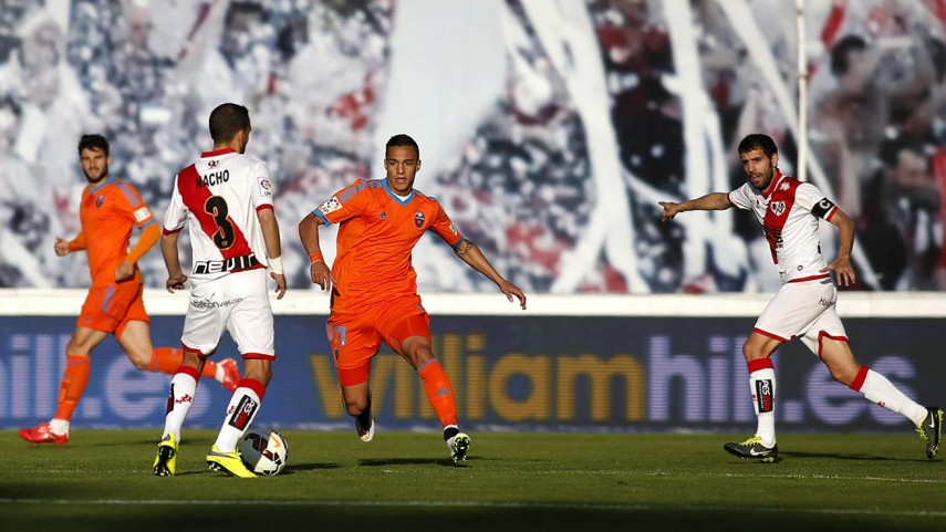 Rayo y Valencia conceden el empate