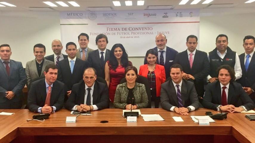 La Liga firma el convenio de colaboración para la Escuela Iberoamericana de Fútbol y Valores en México