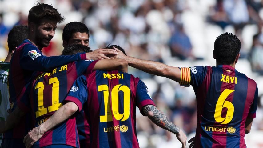 El camino del Barcelona hacia la final