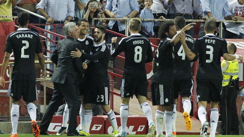 Cristiano Ronaldo derriba la fortaleza del Sevilla