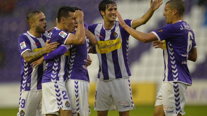 El Valladolid gana y amplia distancias con la sexta plaza