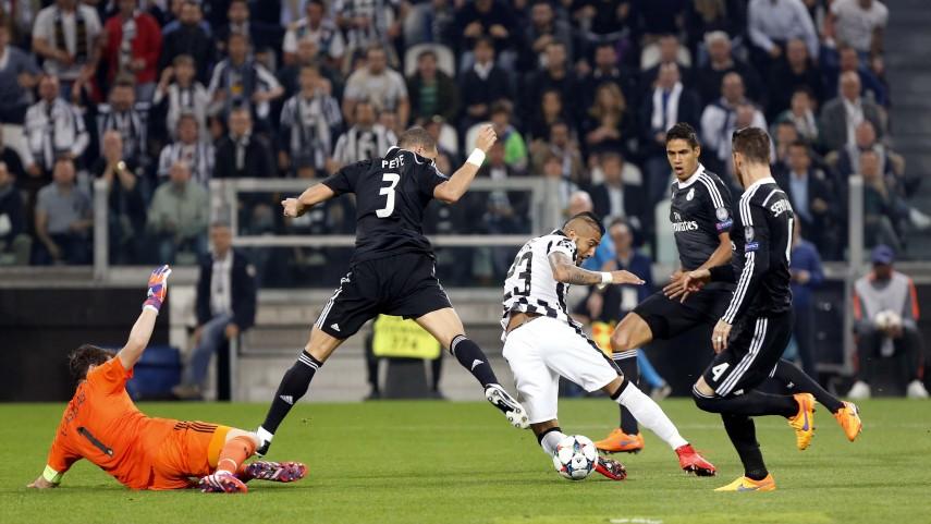 Así son los números del Juventus - Real Madrid