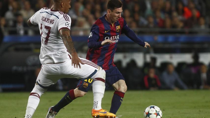 El FC Barcelona, cerca de la final de la Champions