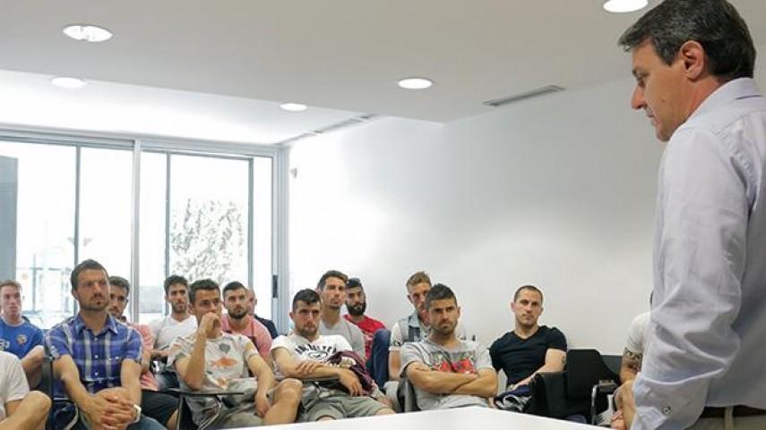 Sabadell, Llagostera y Atlético acogieron el Curso de Integridad de La Liga