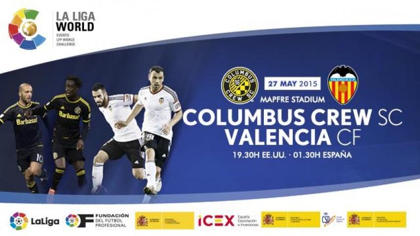 Estados Unidos, destino del Valencia CF en la Liga World